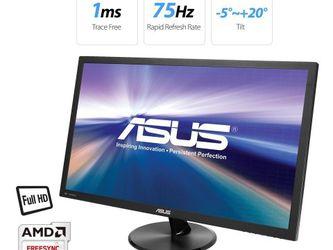 "ASUS VP247QG 24"" Full HD 1920 x 1080 1ms DP HDMI VGA Adaptive Sync/FreeSync Eye Care Monitor 75 Hz for Sale in Rancho Cucamonga,  CA"