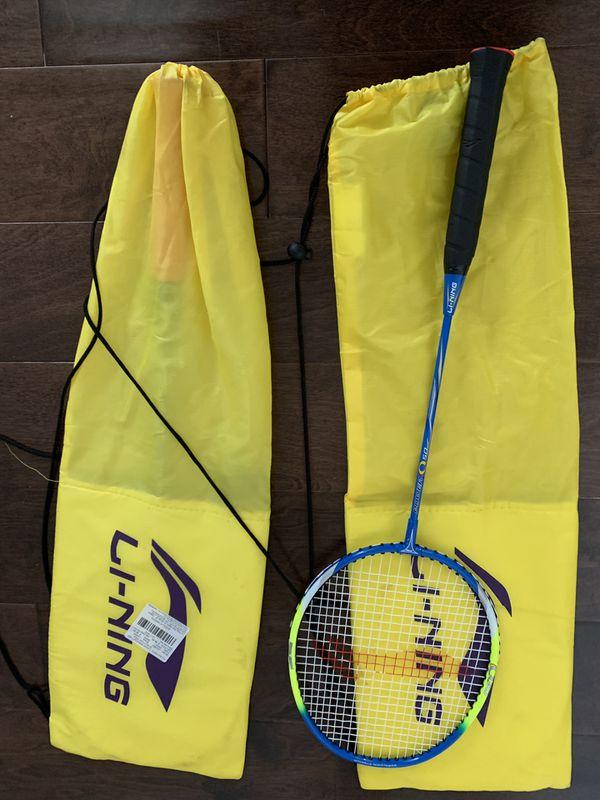 LiNing Badminton Rackets 2 of them
