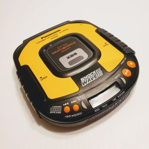 Classic Panasonic Anti-Shock SL-SW405 Portable CD Player XBS Shock Wave. for Sale in Cupertino, CA