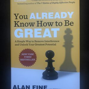 You already know how to be great book Alan Fine new unread for Sale in Pompano Beach, FL