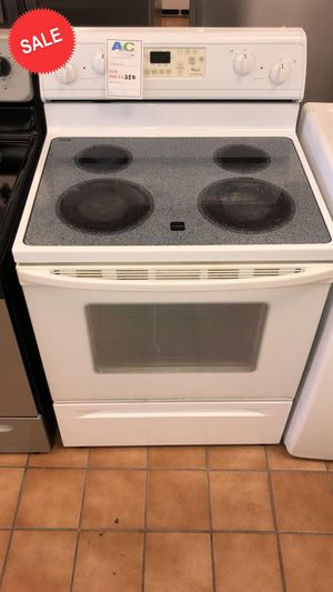 $39 TAKE HOME!CONTACT TODAY! Whirlpool Electric Stove Oven 5.8 cu ft #1492 for Sale in Rosedale, MD