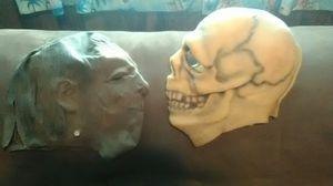 Vintage 1970s Frankenstein and skull masks glow in dark for Sale in District Heights, MD