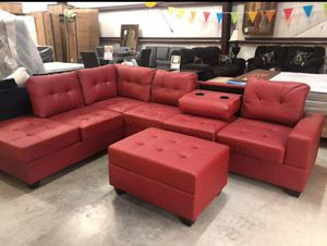 Reversible Sectional Couch Sofa Living Room / delivery available for Sale in Houston, TX