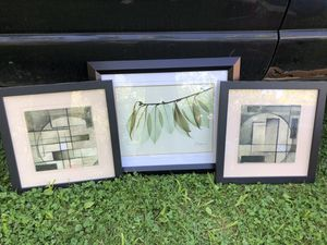 3 piece wall art for Sale in Columbus, OH