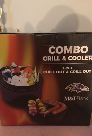 Grill and cooler combo for Sale in Catonsville, MD