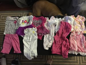 BABY GIRL CLOTHES (size NB) for Sale in Manassas, VA
