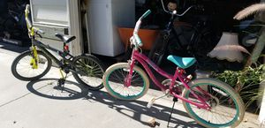 Two, him/her kid bikes for Sale in Riverside, CA