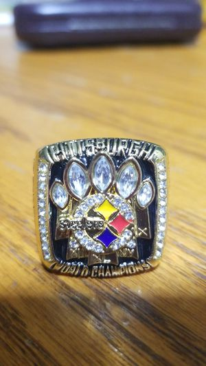 Kalvin Jones Pittsburg Steelers Championship ring 2005 for Sale in Phenix City, AL