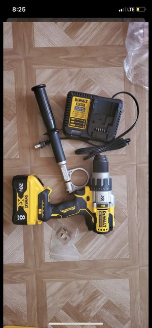 Dewalt 20-Volt Hammer Drill(Battery 8.0 xr and Charger Included) Firm price for Sale in Alexandria, VA