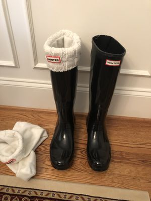 Hunter rain boots for Sale in Durham, NC