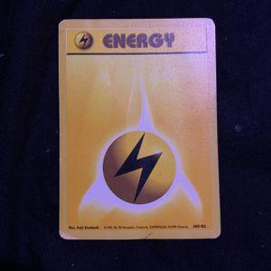 1999 Pokemon Base Set - Lightning Energy - for Sale in Secaucus, NJ