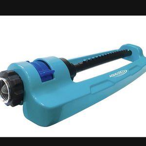 Aqua Joe SJI-OMS16 Indestructible Metal Base Oscillating Sprinkler with Adjustable Spray, 3600-Square Foot Coverage for Sale in Las Vegas, NV