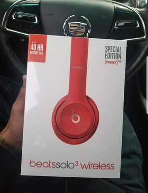 Beats solo wireless bluetooth headphones new in sealed box for Sale in Chula Vista, CA