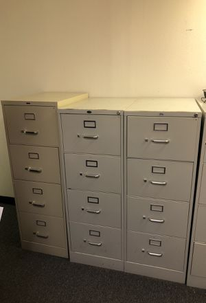 Legal Size Industrial File Cabinets Set of 5 five for Sale in Tampa, FL