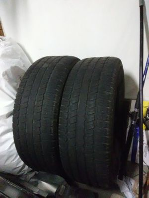 2 truck tires 275/65r/18 for Sale in Manassas, VA