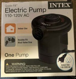 INTEX Electric Pump for Sale in San Angelo, TX