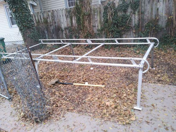 8 ft aluminum ladder rack