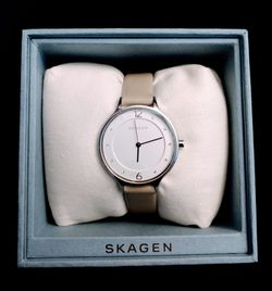 Price Just Dropped: Brand New Skagen Women's Anita Nude Leather Strap Watch 30mm (Pick up🛒 In Bellevue) *Check out my Other Posts🤹 for Sale in Bellevue,  WA