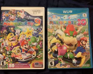 3 Wii and Wii U Games & 1 Mystery DS or Wii Game included for Sale in Yardley, PA