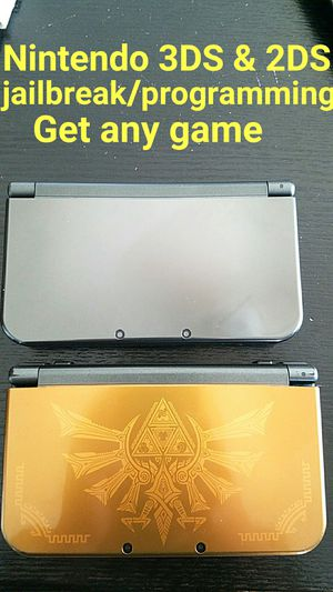 Nintendo 3DS AND 2DS PROGRAMMING MODS GET GAMES *Not selling systems* for Sale in Las Vegas, NV