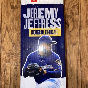 Jeremy Jeffress Bobblehead for Sale in Morton Grove, IL