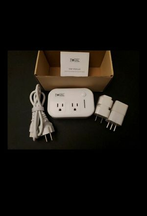 NO DELIVERY 200w Travel Adapter &Power Converter 2x U.S. standard AC outlets & 4 Plug Adapters;European power cord for Sale in South Gate, CA