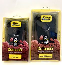 For 6 / 6S / 6 (PLUS) / 6S (PLUS) - iPhone OtterBox Case. Belt Clip & Holster. Black. for Sale in Sylmar,  CA