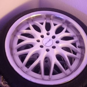 Tire And Rims 17in Low Pro for Sale in Kent, WA
