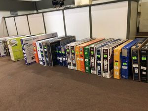 "Smart TVs for sale!!! Open box tv liquidation! Hurry! Come to 8231 burnet road Austin Texas open ! Open daily 10-7pm ! We have sizes from 19""-65"" ! S for Sale in Anaheim, CA"