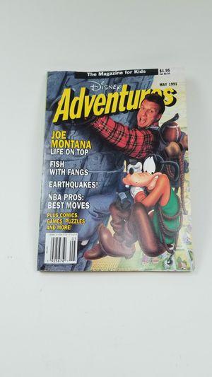 Disney Adventures Magazine May 1991 Joe Montana for Sale in Loma Linda, CA