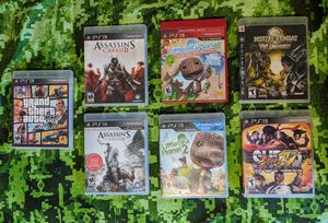 More PS3 Games for Sale in San Fernando, CA
