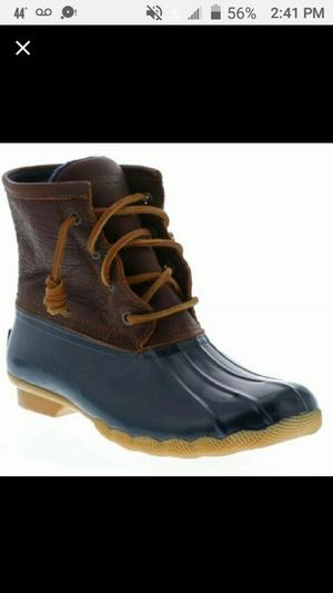 ☔Womans Size 10 Sperry Duck boot rain for Sale in Schaumburg, IL