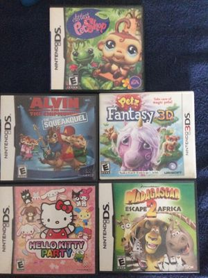 5 games for Nintendo 3DS for Sale in Norco, CA
