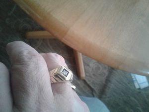 Nice heavyweight 14k yellow gold diamond ring. for Sale in Manton, MI