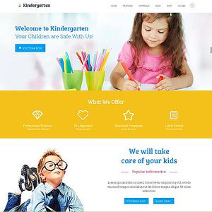 KINDERGARTEN WEBSITE DESIGN for Sale in Newport Beach, CA