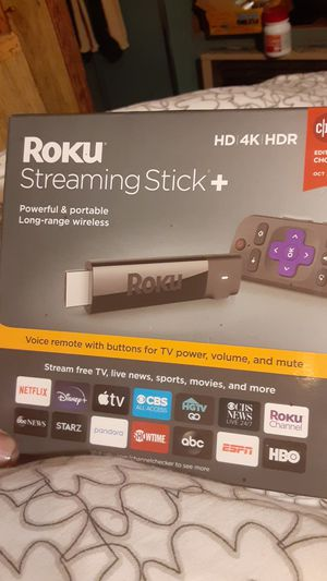 Roku streaming stick HD, 4k,HDR for Sale in Seattle, WA
