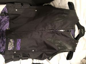 Speed and strength women's motorcycle vest for Sale in San Bernardino, CA