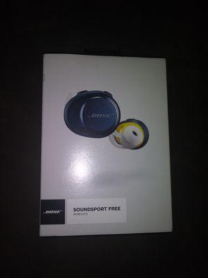 Bose Soundsport Free Wireless for Sale in Tolleson, AZ