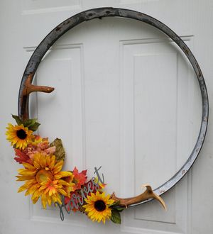 Harvest Wreath w/ Real Sheds for Sale in Buckley, WA