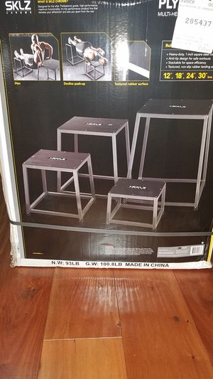 PLYO JUMP BOXES FOR UPPER AND LOWER BODY for Sale in Henrietta, NY