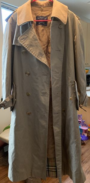 Burberry Jacket Coach Trench Coat for Sale in Portland, OR