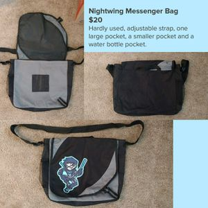DC Universe Nightwing Messenger Bag for Sale in Columbus, OH