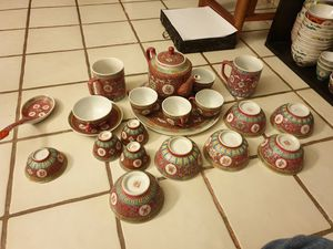 19th Dynasty , 21 pcs chinese wan shou wu jang antique porcelain for Sale in ROWLAND HGHTS, CA