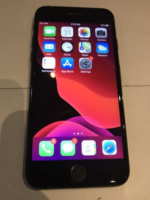 iPhone 7 jet black factory unlocked 128gb for Sale in Los Angeles, CA