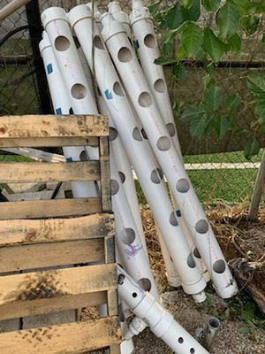 Hydroponics growing pipes for Sale in Pinecrest, FL