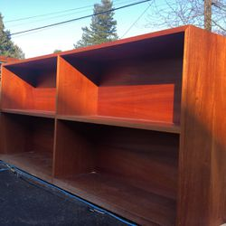 "Solid Wood Cherry Book Shelf's 28 "" With 36 ""high And7' Long for Sale in Seattle,  WA"