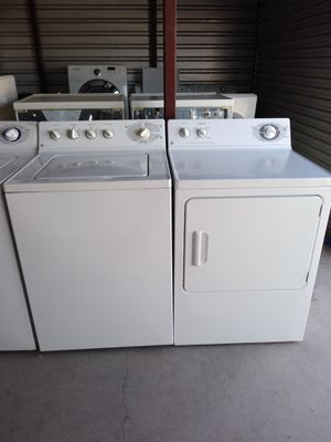 GE gas set working great 30 days warranty free delivery and installation on first floor for Sale in Las Vegas, NV