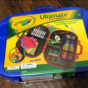 Crayola Ultimate Art Supply Case-Colors May Vary for Sale in Atlanta, GA