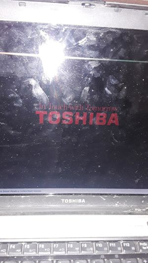 Toshiba laptop with recording equipment for Sale in Oroville, CA