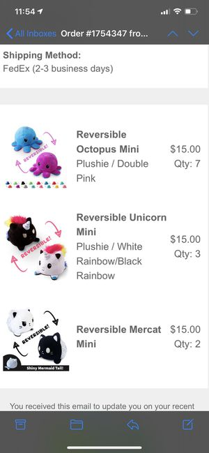 Reversible plushies for Sale in Inglewood, CA